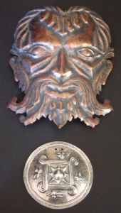 "Copper ""Green Man"""